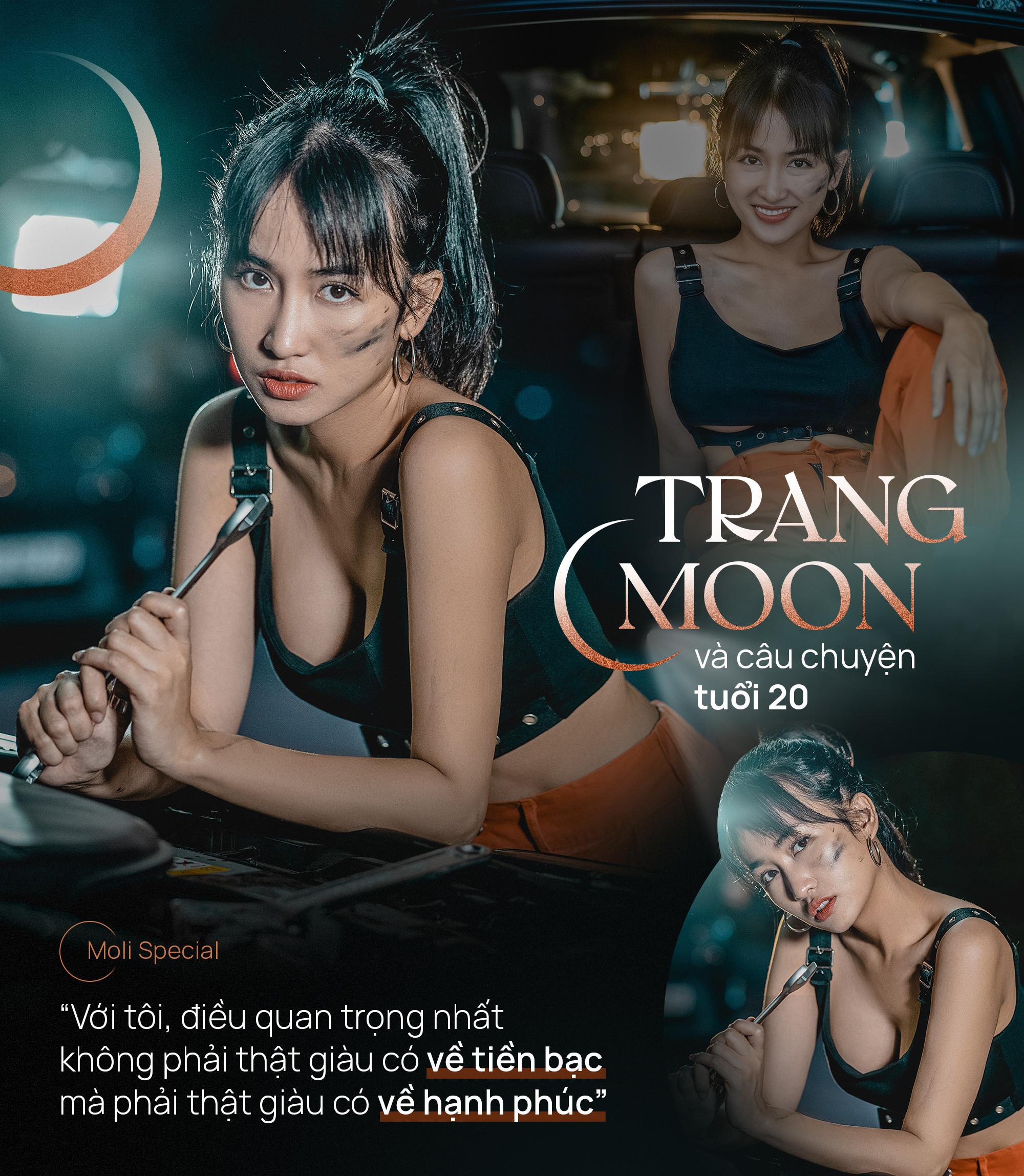 Trang Moon và câu chuyện tuổi 20