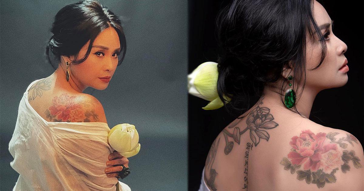 """Thanh Lam hiếm hoi tiết lộ hình xăm """"khủng"""" trên vai, khoe nhan sắc ngày càng mặn mà ở tuổi 52"""