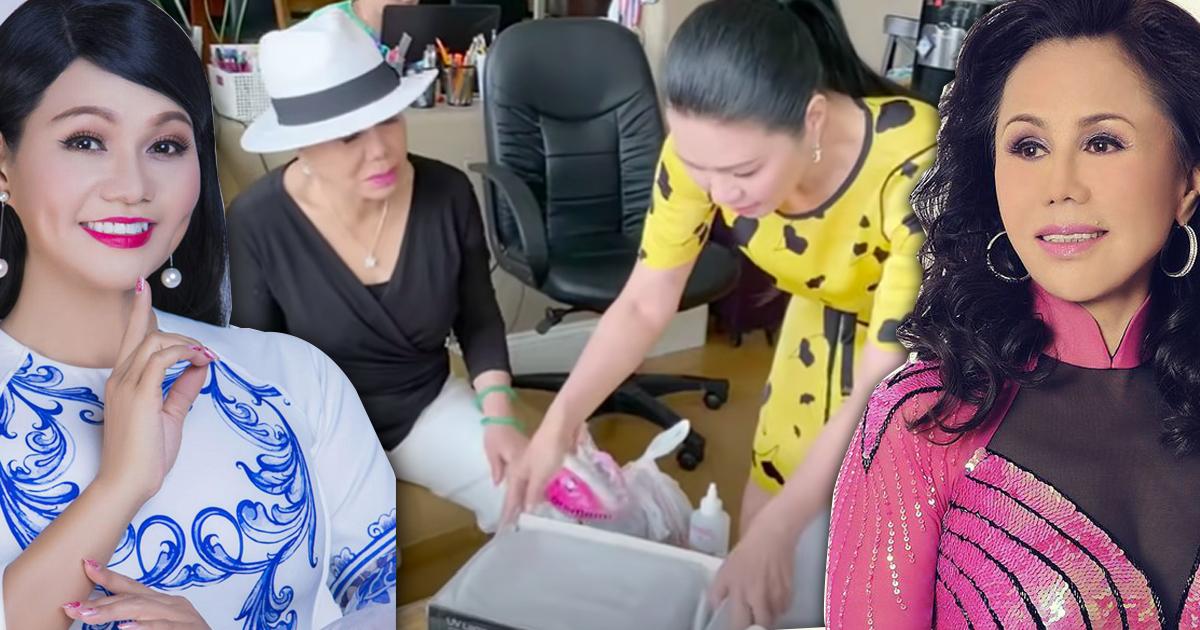 Ngọc Huyền làm móng cho mẹ chồng, hé lộ mối quan hệ giữa danh ca Thanh Tuyền và nữ nghệ sĩ