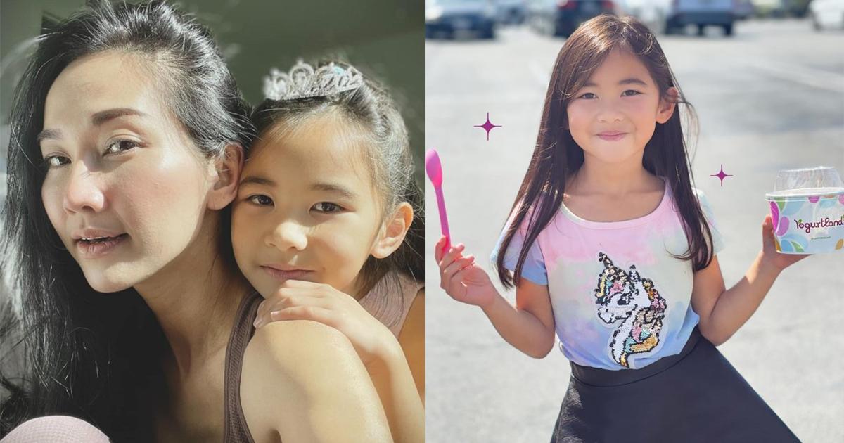 Con gái 6 tuổi của diễn viên Kim Hiền: Xinh xắn giống mẹ, bộc lộ năng khiếu hội họa từ bé