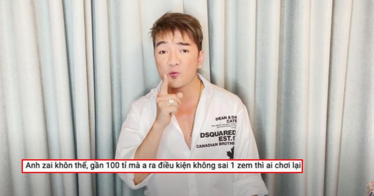Netizen soi clip lên tiếng của Đàm Vĩnh Hưng: Nói vòng vo, đòi sai 1 zem mới chịu là chứng tỏ sợ thua?