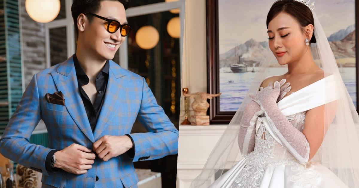"""Hé lộ tạo hình cô dâu Phương Nam xinh đẹp, chú rể Hoàng Long có """"chạy đằng trời"""""""