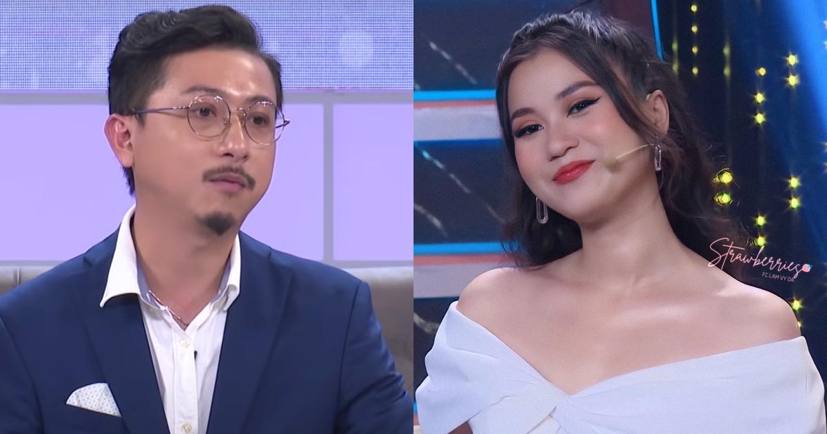 """Lâm Vỹ Dạ """"mê trai đẹp"""" trên các game show, Hứa Minh Đạt phản ứng ra sao mà đồng nghiệp đều nể phục?"""