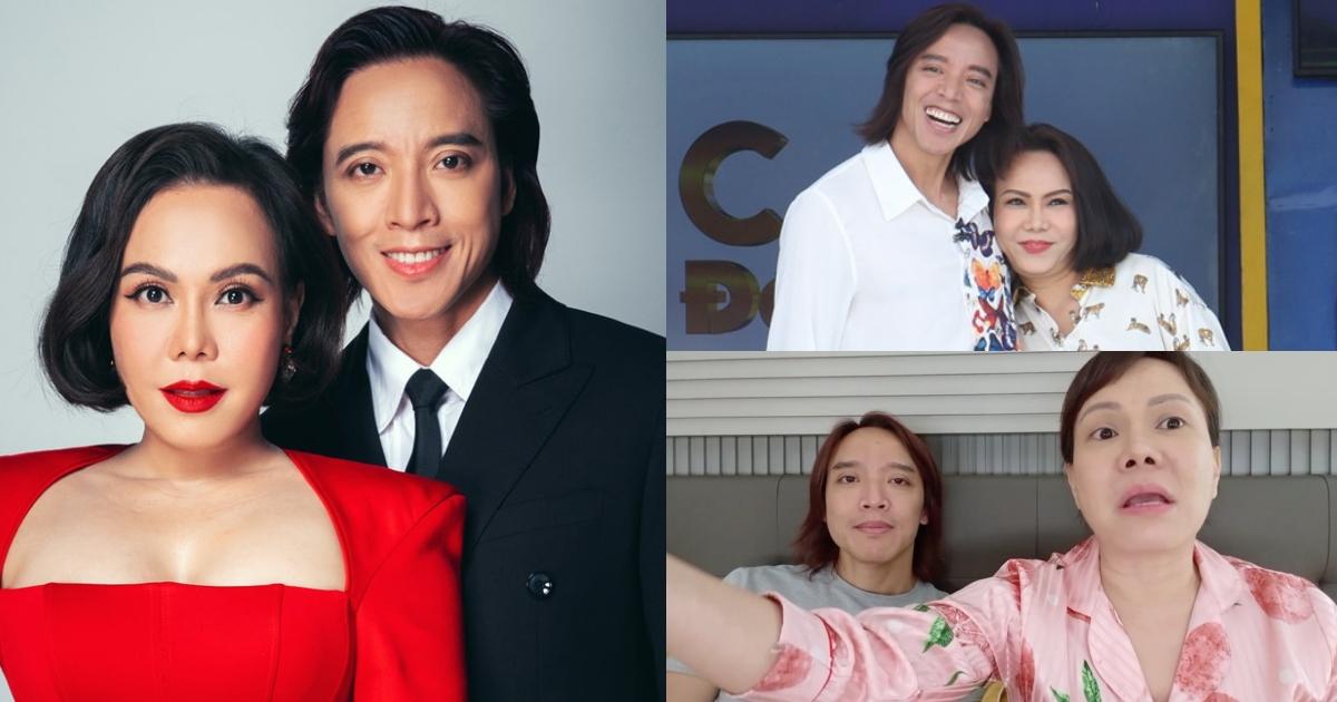 Việt Hương bất ngờ nói về chuyện ly dị ngay trước mặt Hoài Phương, cả chồng và fans đều thích thú?