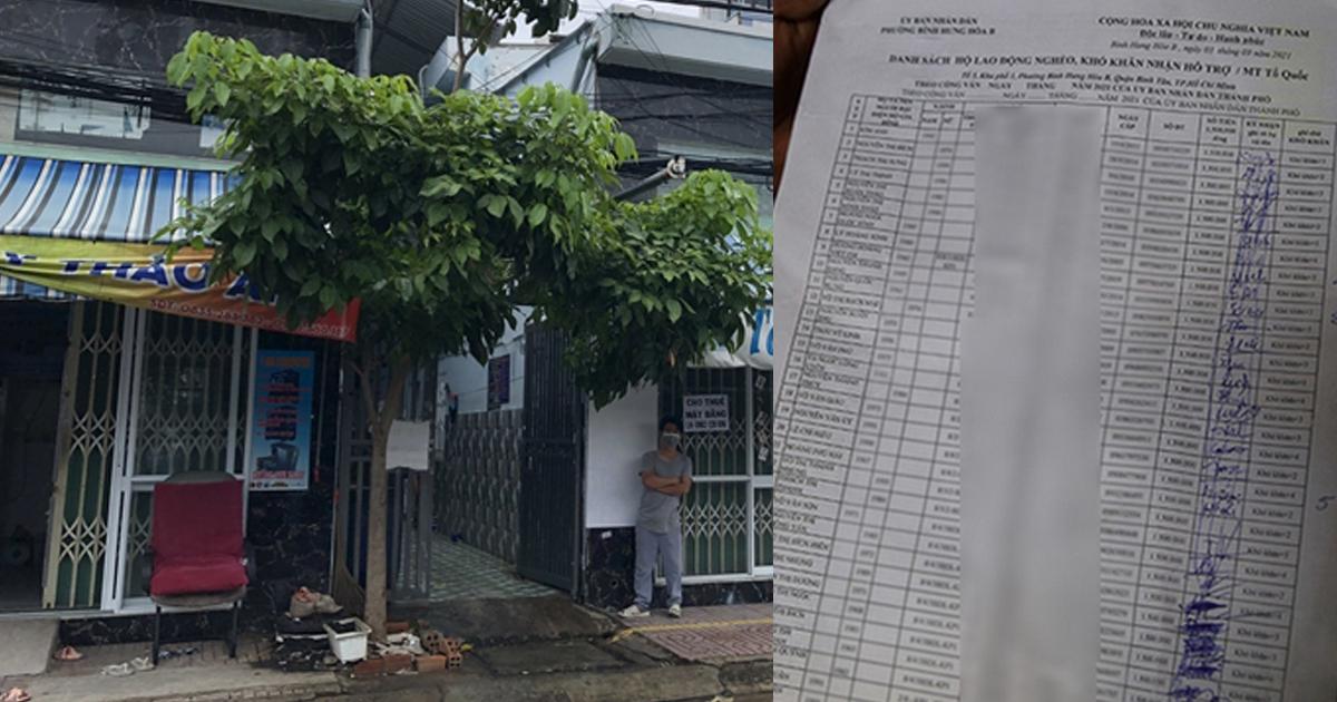 Thực hư người dân ở TP.HCM được phát 15kg gạo nhưng phải ký nhận 1,5 triệu đồng
