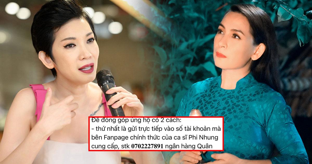 """Xuất hiện người kêu gọi fans góp tiền giúp Phi Nhung chữa Covid-19, Xuân Lan bức xúc: """"Đồ ác độc"""""""