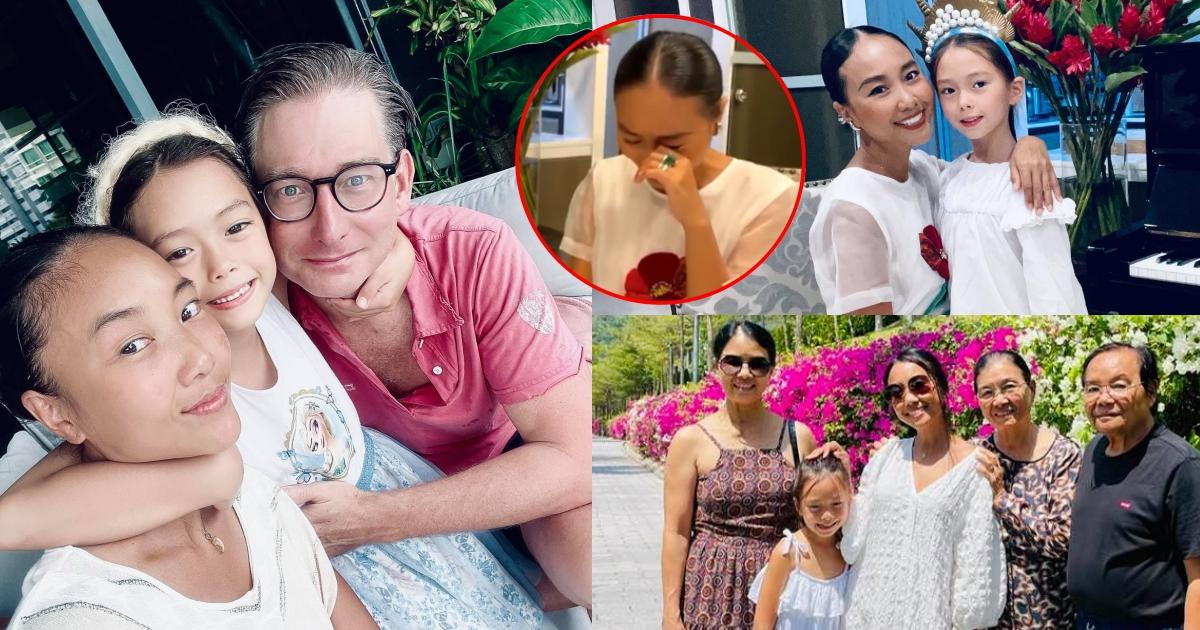 """Đoan Trang bật khóc vì phải xa người thân hơn 2 năm do Covid-19: """"Mong hết dịch để được về với gia đình"""""""