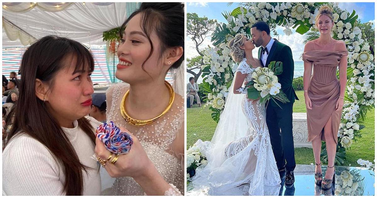 """Đám cưới mà nhỏ bạn thân khóc nức nở: """"Đang vui tự nhiên mày lấy chồng"""""""