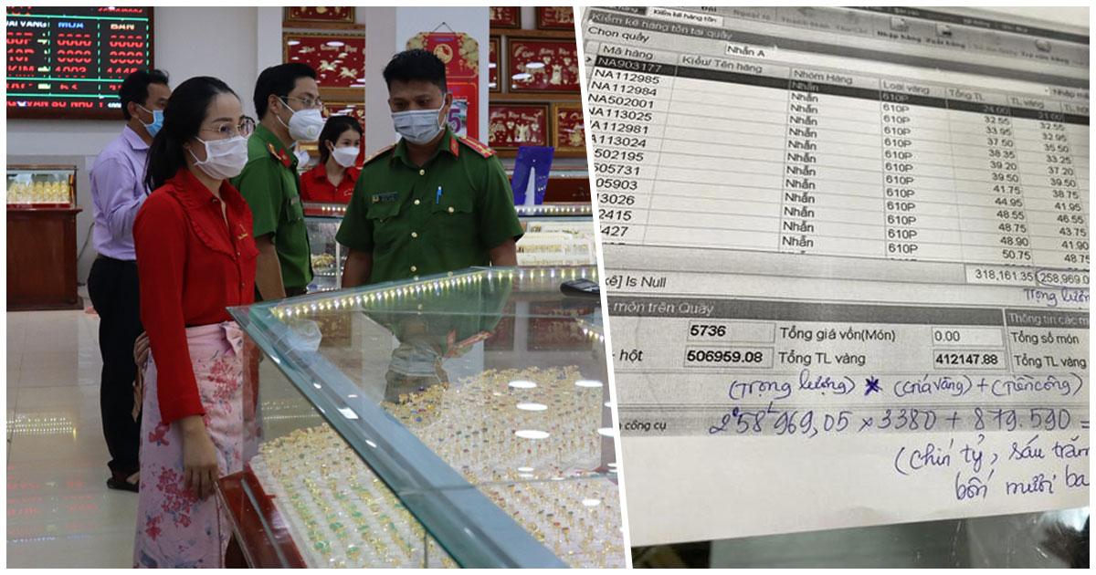 Nữ nhân viên trộm 2.300 nhẫn vàng của gia chủ trị giá hơn 10 tỷ đồng