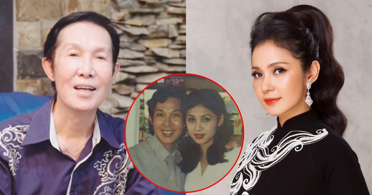 """Việt Trinh khoe ảnh hiếm với """"ông hoàng cải lương"""" Vũ Linh: Sau hàng chục năm, cả hai có gì thay đổi?"""