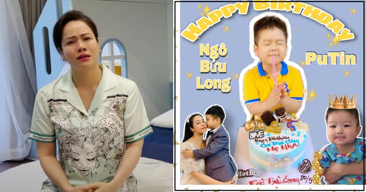 """Nhật Kim Anh khóc vì nhớ quý tử trong ngày sinh nhật: """"Chưa bao giờ mẹ quên đứa con rứt ruột đẻ ra"""""""