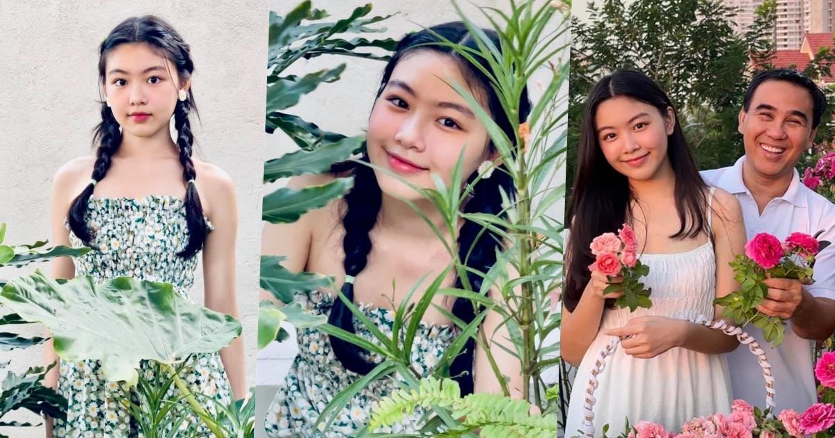 """Con gái MC Quyền Linh khoe nhan sắc cực phẩm khiến fans """"dậy sóng"""": Hoa hậu tương lai đây rồi!"""
