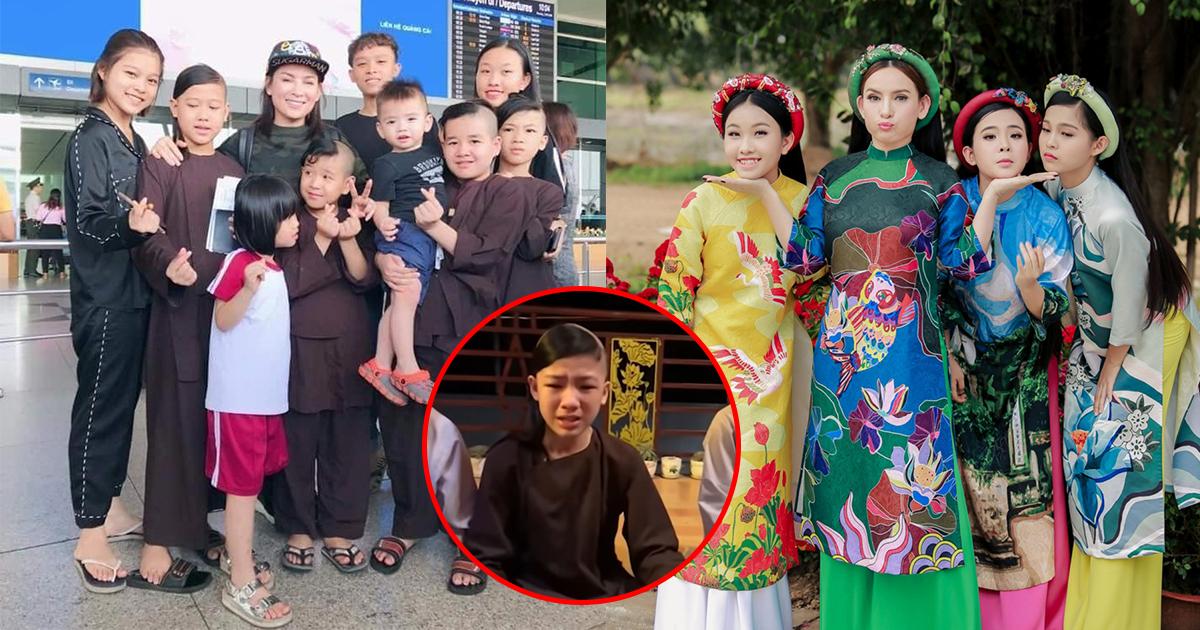 Các con nuôi của Phi Nhung khóc nghẹn, cầu cứu vì sợ mất mẹ, vợ cũ Bằng Kiều quặn lòng hứa 1 điều
