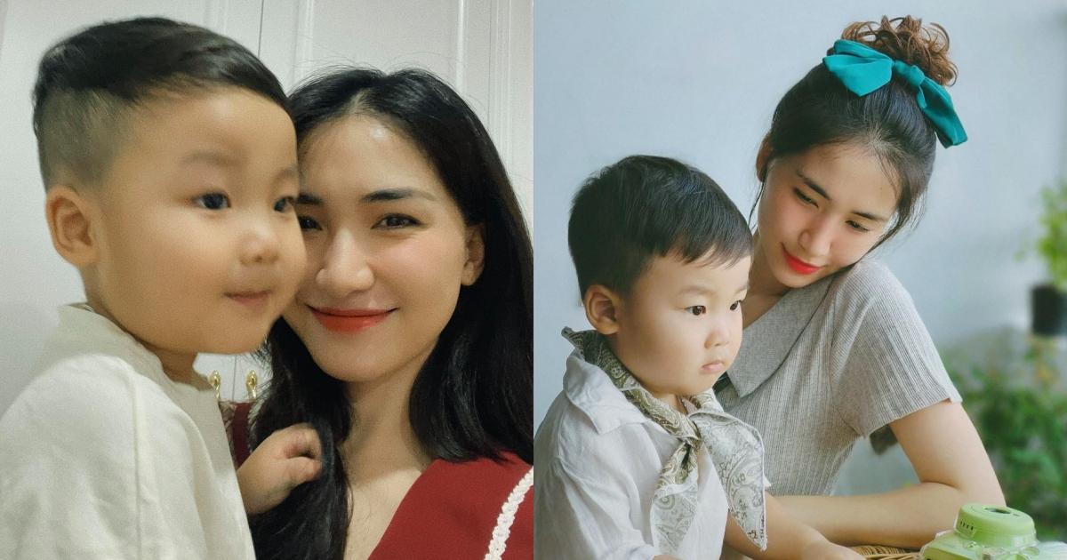 Fans nhắc nhở bé Bo đang tập một thói quen không tốt, Hòa Minzy phải lên tiếng giải thích