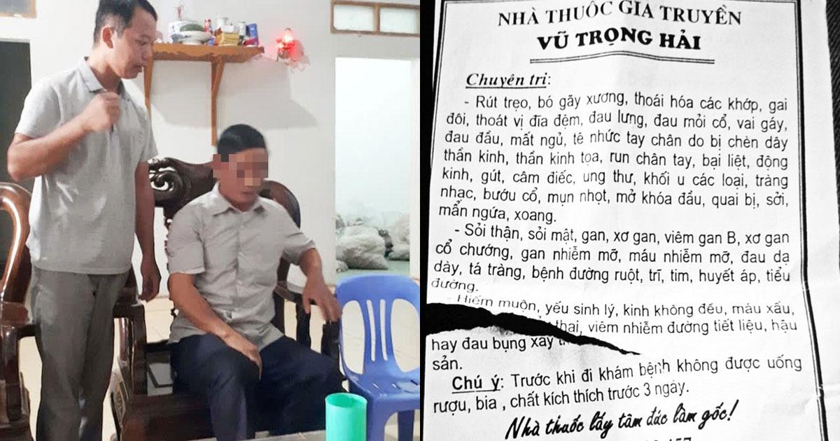 """Thầy Lang Bắc Giang chữa hiếm muộn bằng cách làm """"chuyện ấy"""" để bệnh nhân... mang thai"""