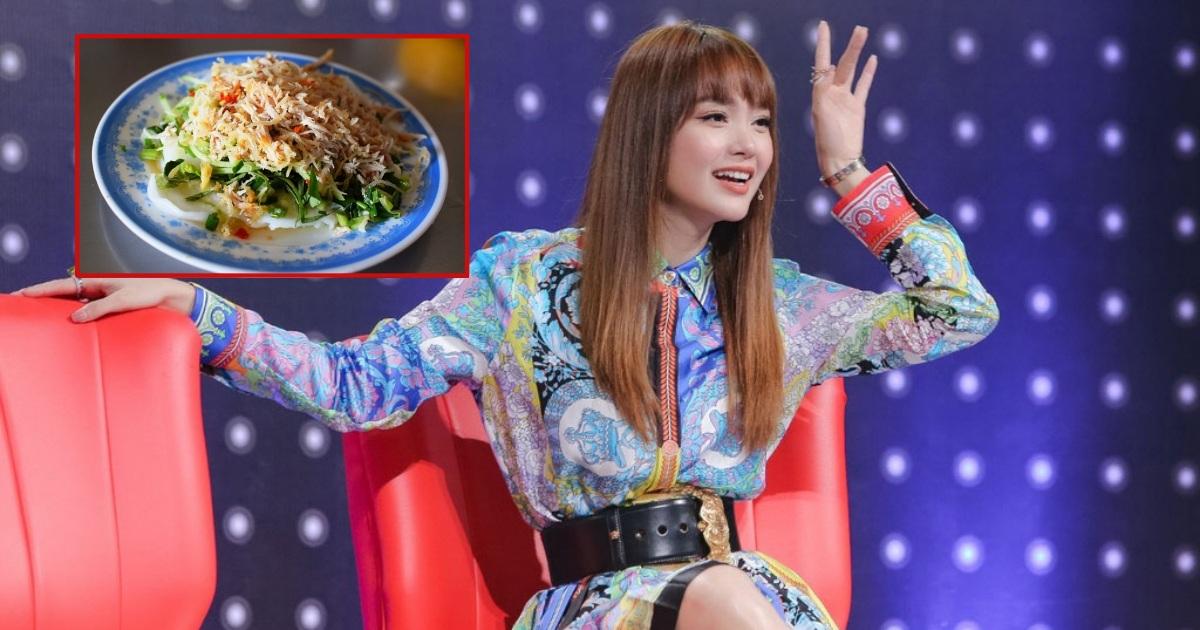 Không phải sơn hào hải vị, đây là món ăn khiến Minh Hằng mê mẩn