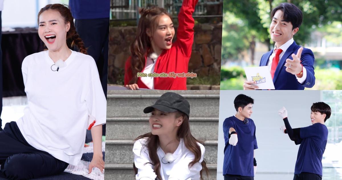 """Lan Ngọc nhăn nhó """"thấy thương"""", Đức Phúc - Cris Phan là khách mời trong tập 2 Running Man Vietnam"""
