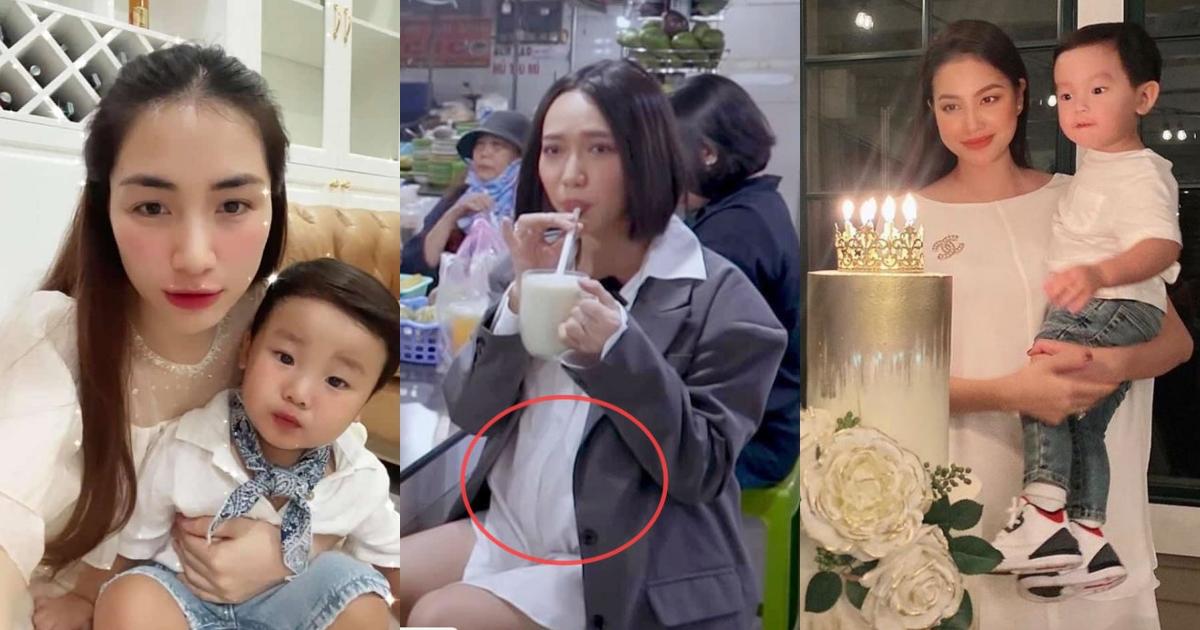 """Sao Việt có con nhưng """"chẳng ai biết"""": Diệu Nhi """"vác bụng bầu"""" đi quay, Hòa Minzy """"giấu quý tử"""" gần 2 năm"""