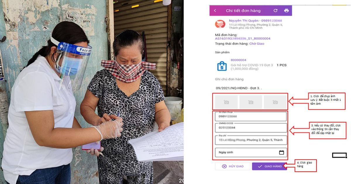 TP.HCM: Chi hỗ trợ đợt 3 cho 7,3 triệu dân từ 1-10, thực hiện qua app