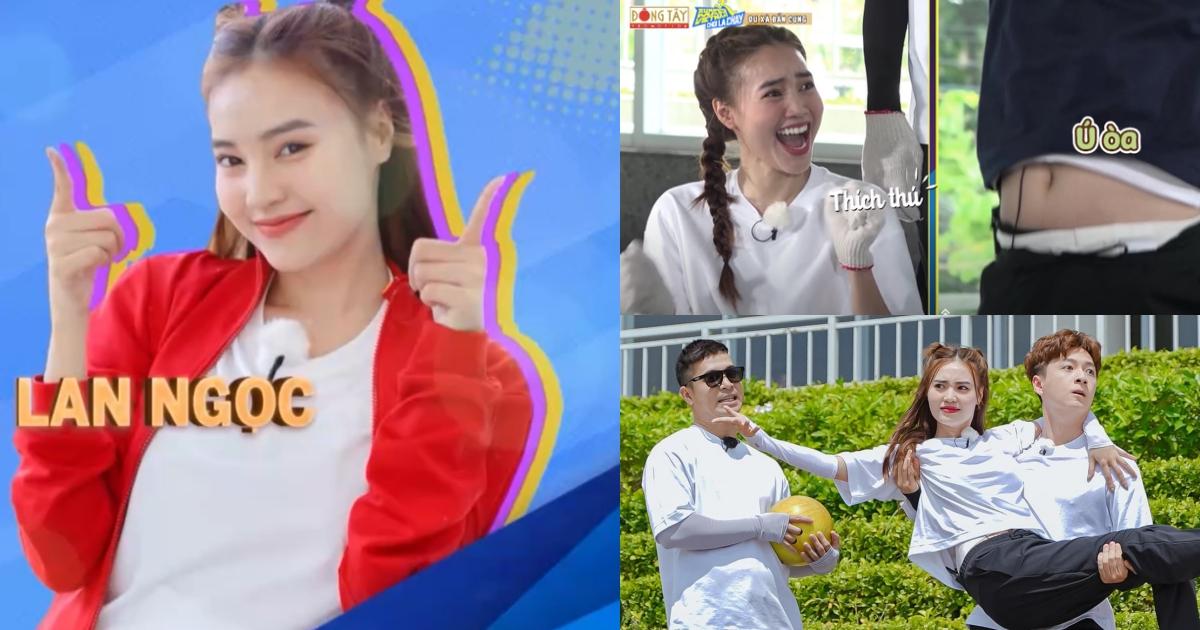 """Tập 2 Running Man: Lan Ngọc thành """"át chủ bài"""", phản ứng khi Trường Giang lộ bụng mỡ khiến fans cười no nê"""