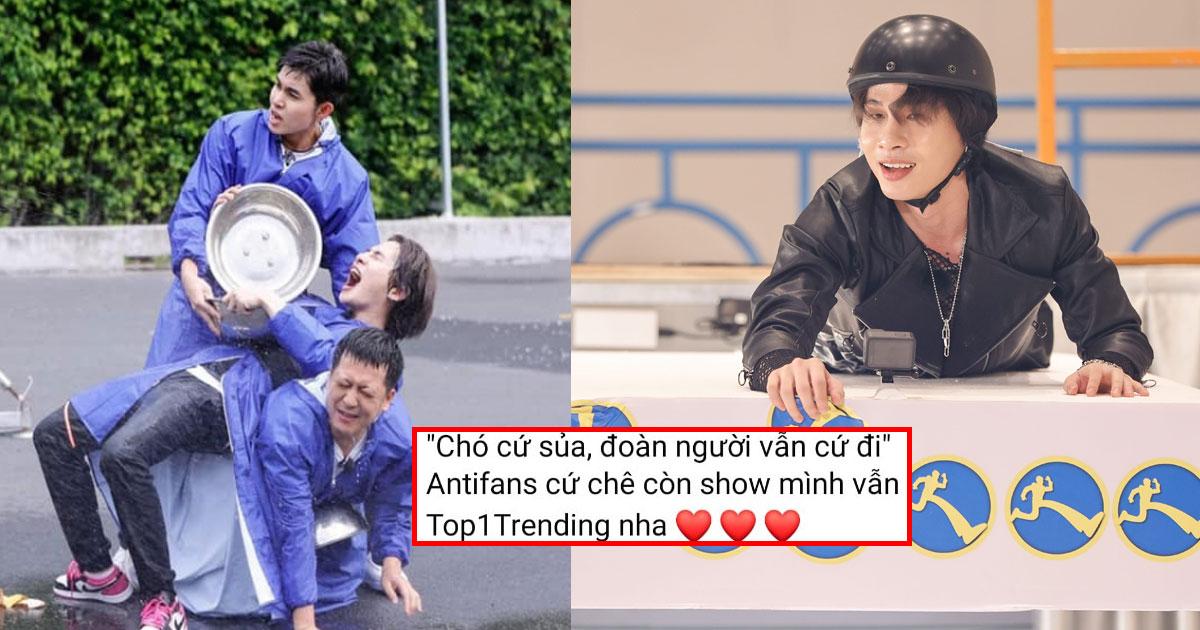"""Thành viên ekip Running Man Việt Nam mỉa mai khán giả là """"chó"""" khiến dư luận bất bình"""