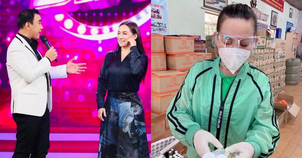 """Phi Nhung qua đời, MC Quyền Linh xót xa: """"Đi từ thiện mùa dịch đúng là đánh cược mạng sống"""""""