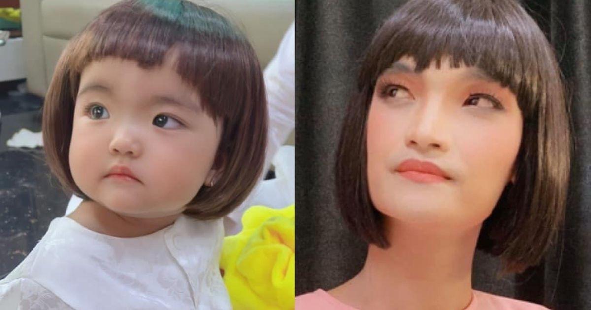 """Con gái Mạc Văn Khoa khoe tóc mới, fans dự đoán: Minnie soán ngôi """"cây hài"""" của bố trong tương lai"""
