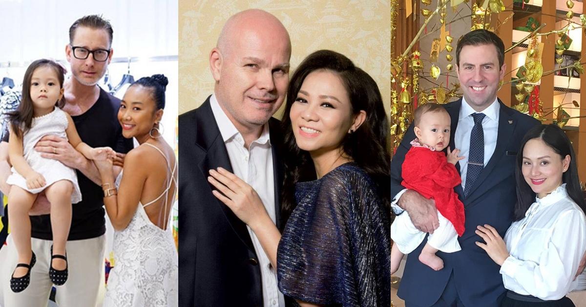 """Sao Việt hạnh phúc bên chồng Tây: Người có sự nghiệp thăng hoa, người chuyên tâm làm """"mẹ bỉm sữa"""""""