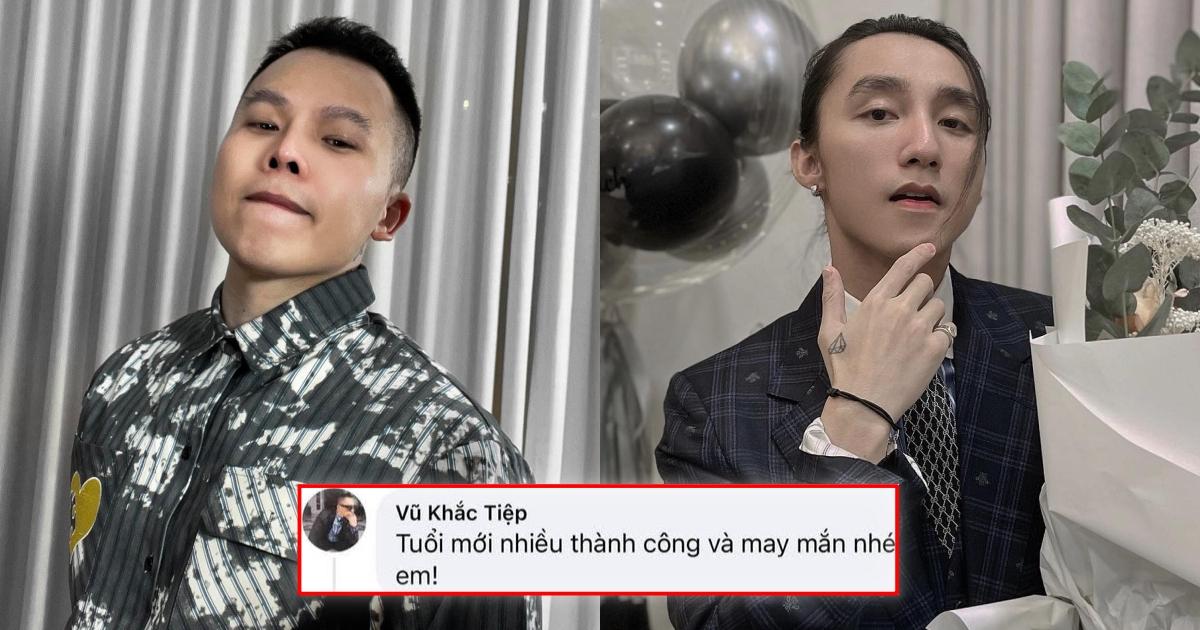 Góc xấu hổ: Vũ Khắc Tiệp hồ hởi chúc mừng sinh nhật Sơn Tùng dù đàn em ăn mừng 9 năm debut