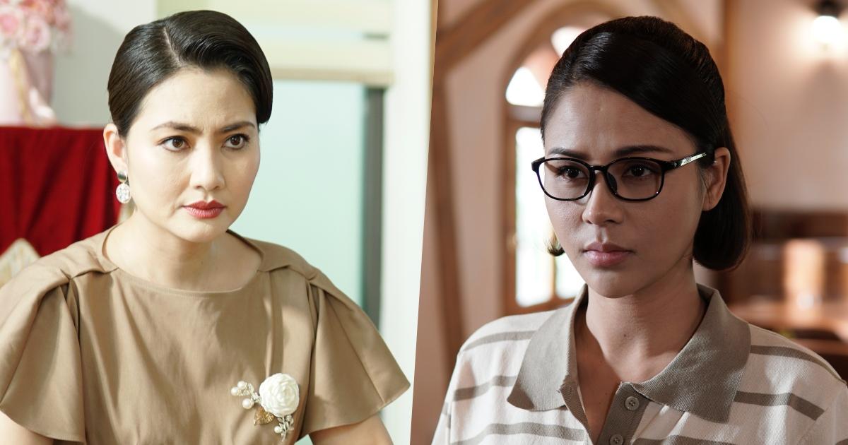 """Lương Thu Trang """"đối đầu"""" mẹ kế Ngọc Lan cực gắt trong """"Mặt nạ gương"""""""