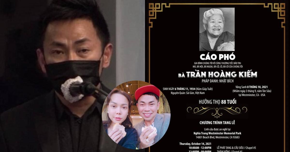 Vừa ôm tro cốt NS Phi Nhung về đến Mỹ, Việt Hương lại phải nhận thêm một tin buồn