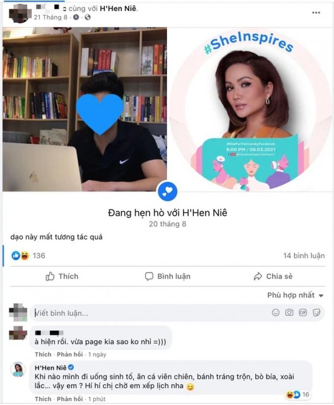 Xuất hiện trai lạ đặt trạng thái hẹn hò với HHen Niê, nàng hậu hồi đáp khiến fans càng bất ngờ