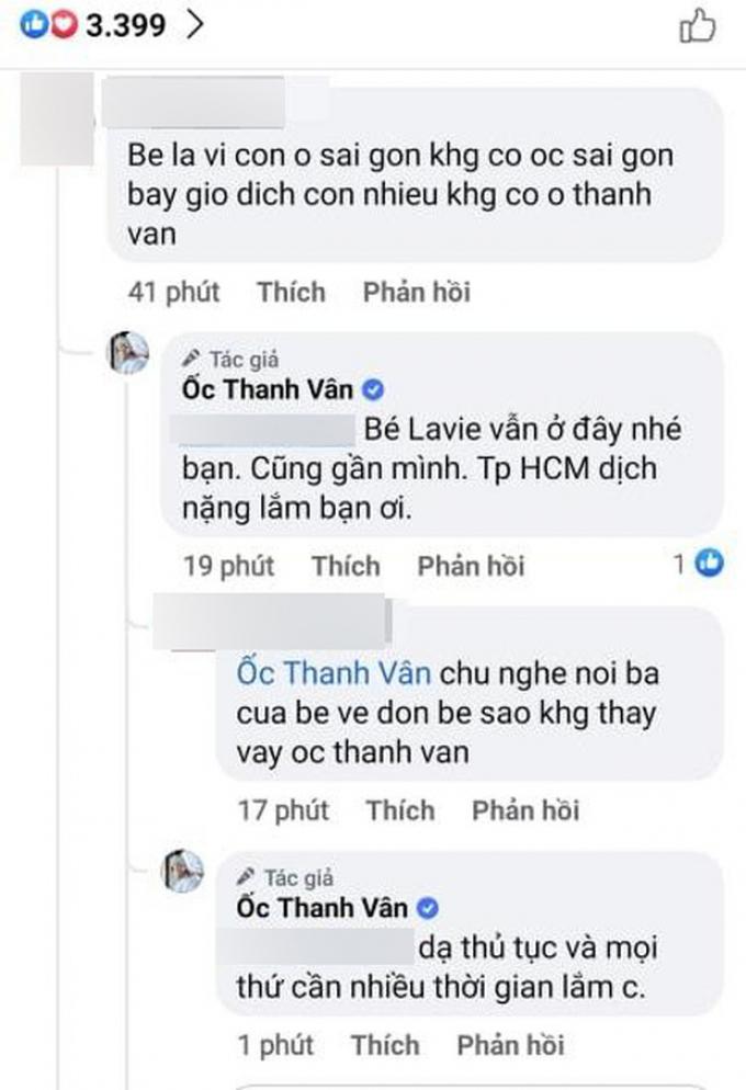 Ốc Thanh Vân hé lộ lý do sau 1 năm NS Mai Phương qua đời, Lavie vẫn chưa sang Mỹ ở cùng ba
