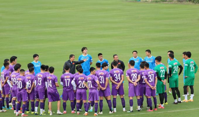 HLV Park bổ sung cầu thủ nhưng không đưa sang Saudi Arabia