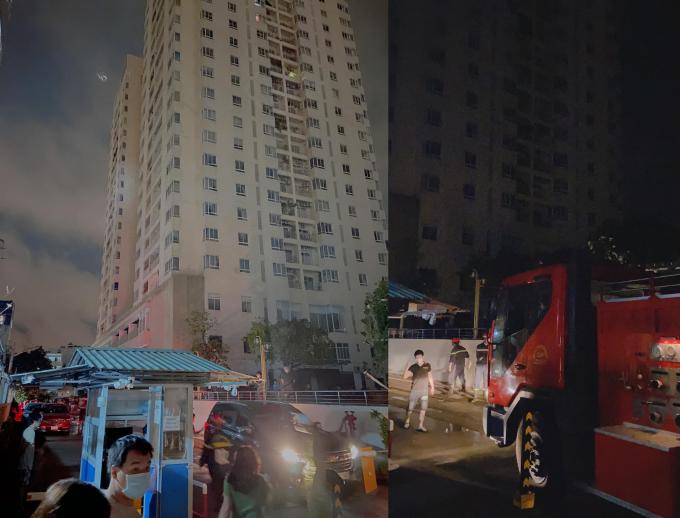 Vợ cũ Hoài Lâm hoảng hốt ôm hai con tháo chạy giữa đêm vì cháy nổ