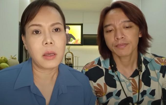 NS Việt Hương: Vợ chồng tôi ráng lo cho mọi người, không ngừng nghỉ, chừng nào hết dịch thì thôi