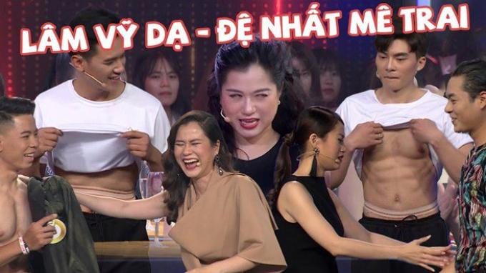 Lâm Vỹ Dạ mê trai đẹp trên các game show, Hứa Minh Đạt phản ứng ra sao mà đồng nghiệp đều nể phục?