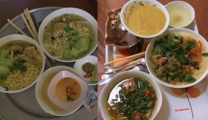 Ngỡ ngàng loạt mâm cơm của gia đình 5 F0: Sang chảnh hơn đi ăn hàng