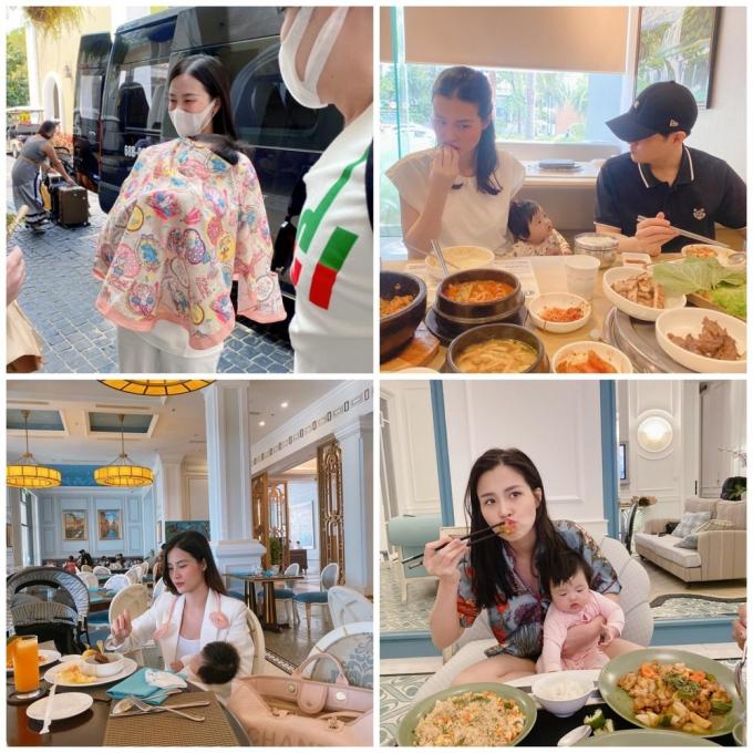 Hội mẹ bỉm sữa Hà Hồ, Đông Nhi, Hòa Minzy vất vả chăm con: Tất bật suốt ngày, đi tắm cũng khó yên