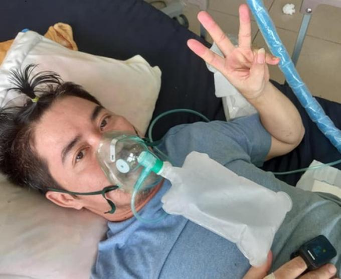 Vợ mất, bệnh nhân Covid-19 hồi phục kỳ diệu nhờ quyết tâm phải sống vì 3 đứa con nhỏ