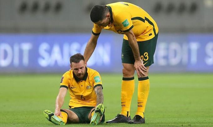 Australia tổn thất trước trận Việt Nam