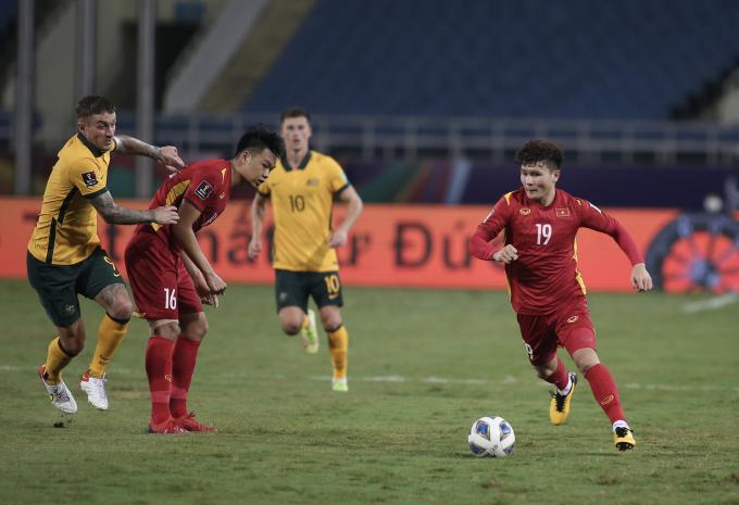 Thạch Bảo Khanh: Quang Hải đã ghi bàn nếu mặt sân không quá xấu