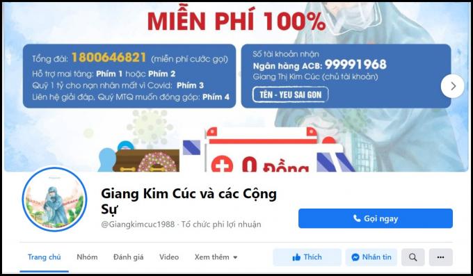 Giang Kim Cúc vô tình để lộ số dư gần 16 tỷ đồng dù liên tục thông báo quỹ từ thiện gần hết?
