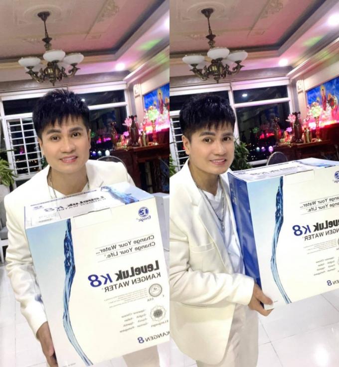 Ca sĩ Lương Gia Huy trở thành đại sứ hình ảnh cho hãng máy lọc nước uy tín Nhật Bản