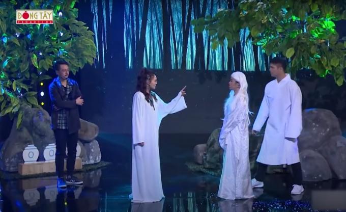 Lan Ngọc lầy lội yêu cầu ra tay với Lâm Vỹ Dạ, phản ứng của Hứa Minh Đạt khiến fans vỡ tim