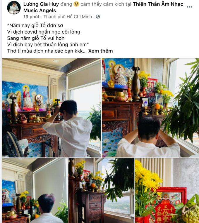 Ngày Giỗ Tổ Sân khấu: Đàm Vĩnh Hưng, Vũ Hà bày mâm cúng trang trọng, Nam Thư diện áo dài dâng lễ