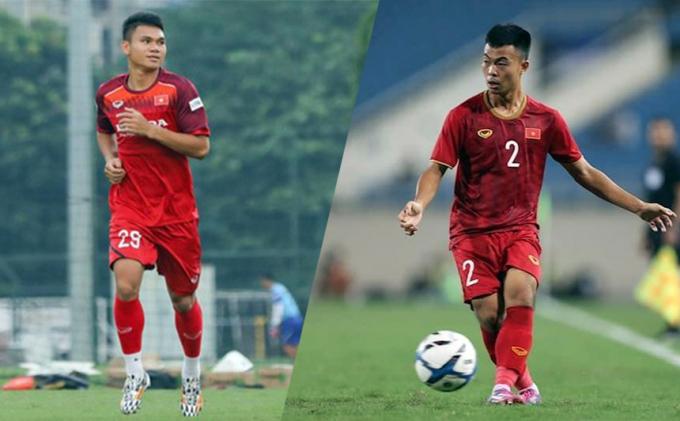HLV Park gọi 2 hậu vệ lên tuyển Việt Nam