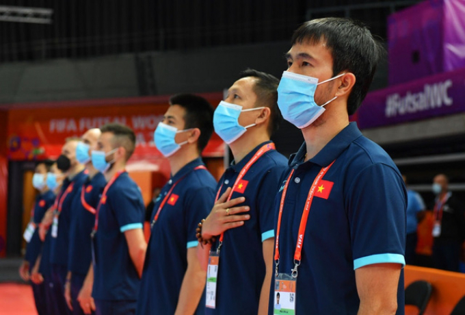HLV futsal Việt Nam nhiễm Covid-19