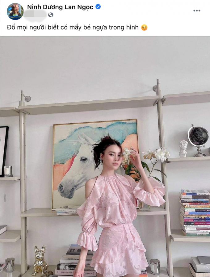 Lan Ngọc khoe vẻ đẹp mong manh với sắc hồng ngọt ngào, fans chỉ chăm chăm tìm 1 thứ!