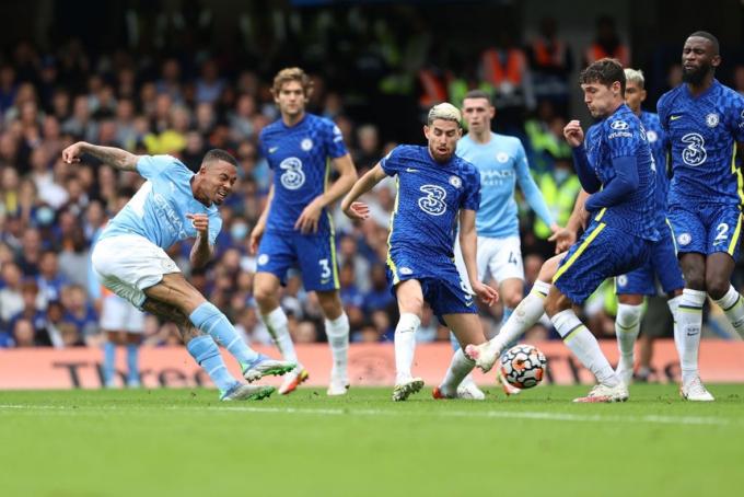 Man City lên nhì bảng sau trận thắng Chelsea
